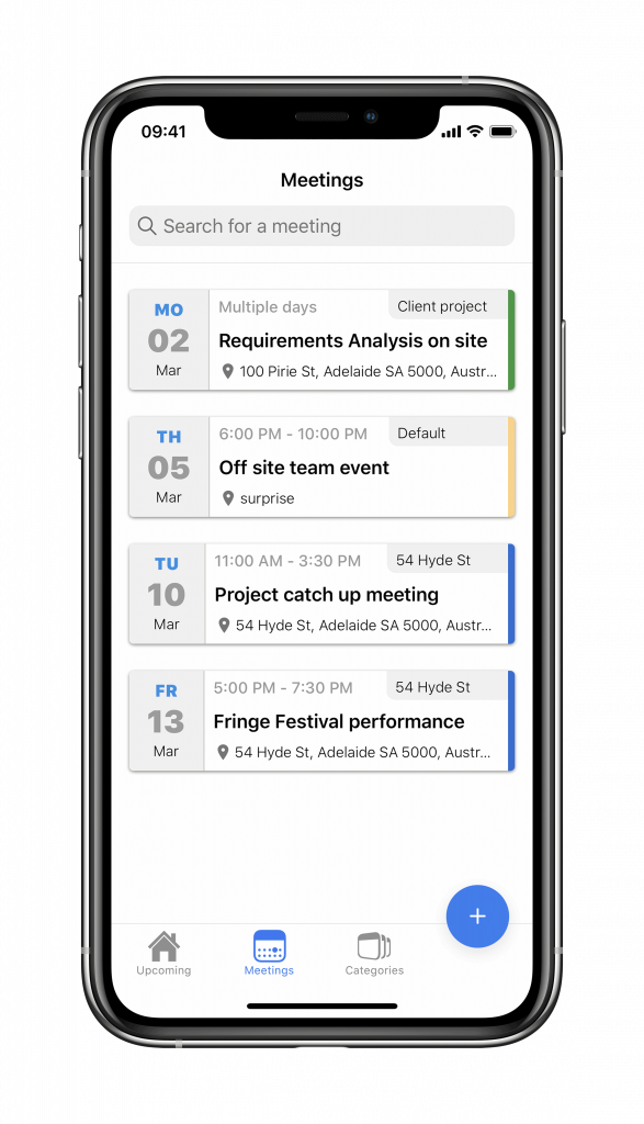 iPhone screen toldu app